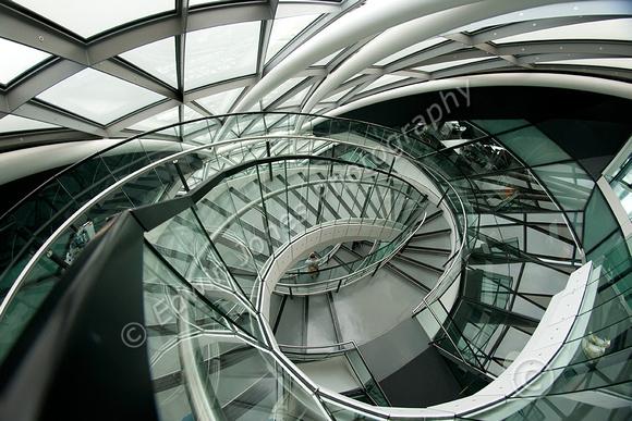 City Hall Curves and Spirals Original