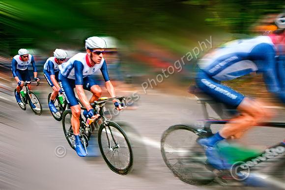 Team GB Mens Olympic Road Race Box Hill Loop Final