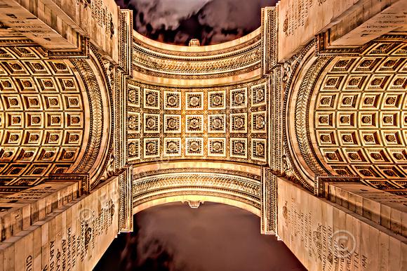 Arc de Triomphe Arch Symmetry Final