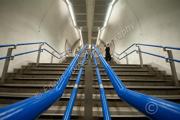 Blue Guide Rails Descent to the Underworld Original