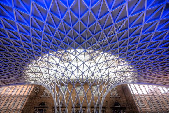 Kings Cross Station Flowering Roof tonemapped
