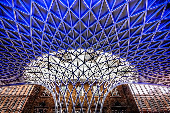 Kings Cross Station Flowering Roof Centre