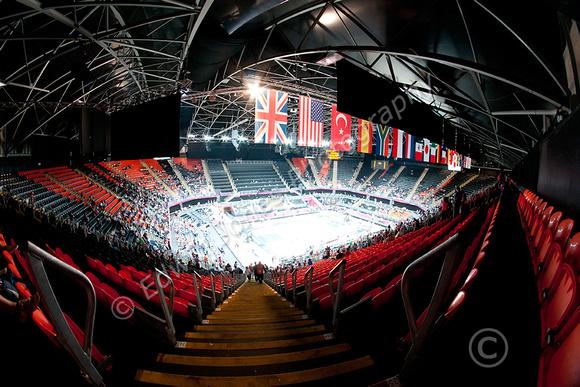 London 2012 Basketball Eyrie View Original