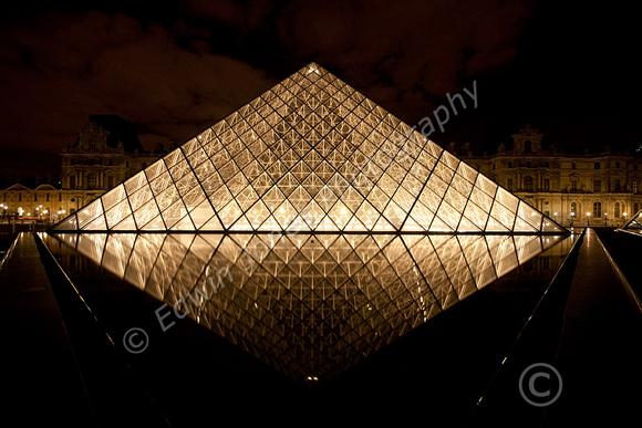 Louvre Night Diamond Paris Original