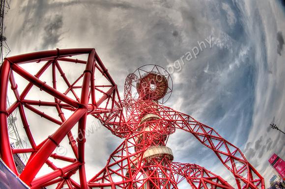 Orbit Tower Fisheyed Tonemapped