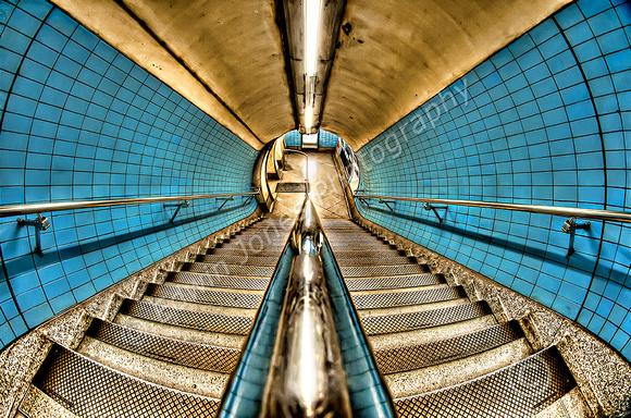 Blue Stairwell London Underground Final