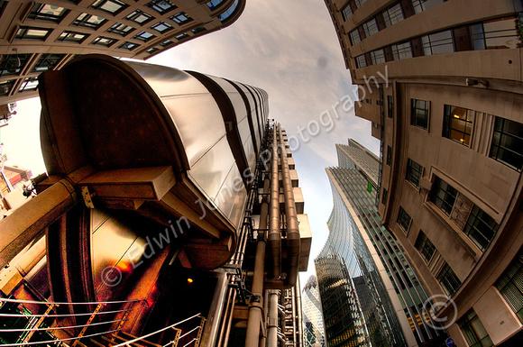 Lloyds of London Fisheyed Tonemapped