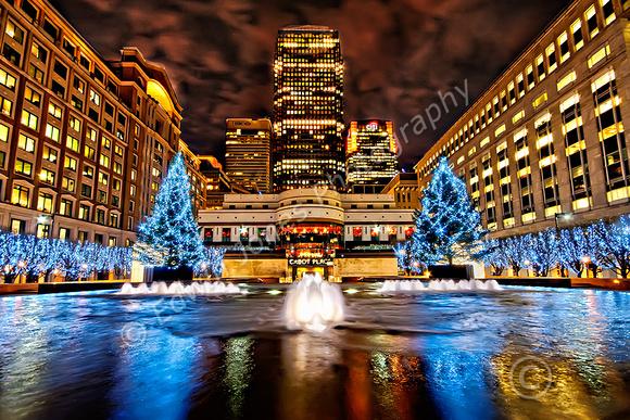 Cabot Square Christmas London