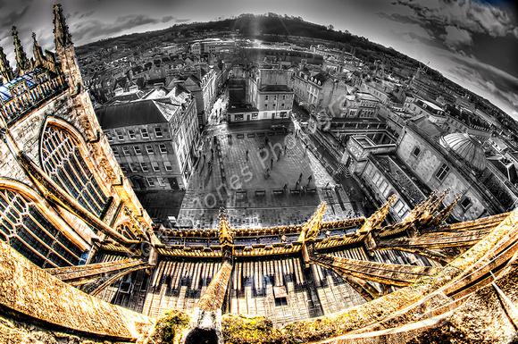 Bath Abbey Tower Tour View Final