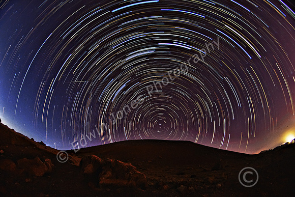 Red Planet Star Trails stars after edits