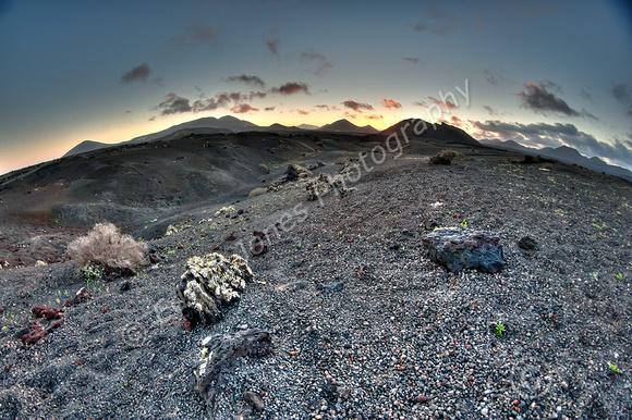 Small Planetoid Sunset Tonemapped