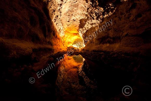 Lava Cave Pool Lanzarote Original