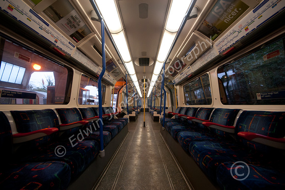 Piccadilly Line Empty Carriage original