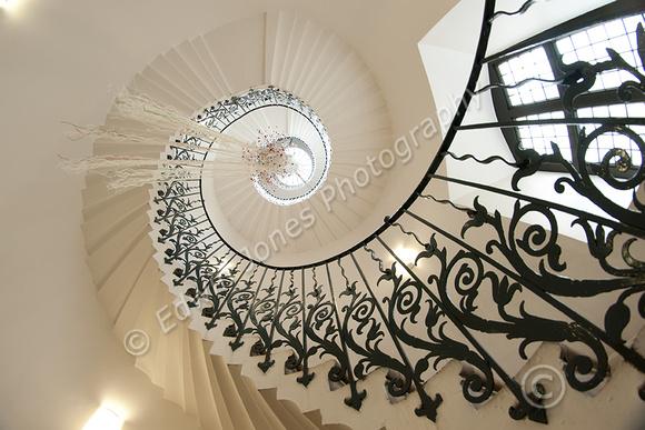 Staircase Spiral to the Sky Original