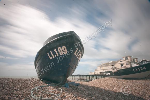 Bognor Beach Gale Force Original