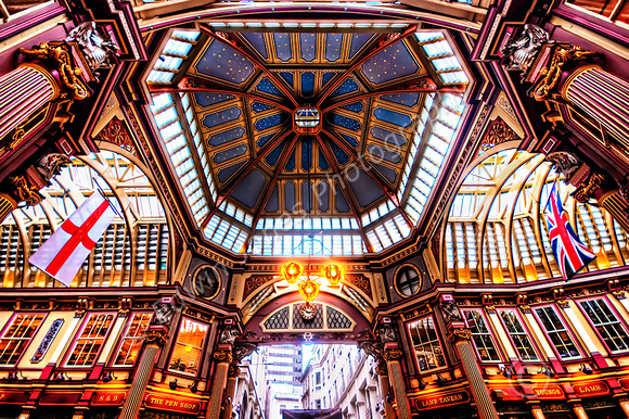 Leadenhall Market Roof City of London Final