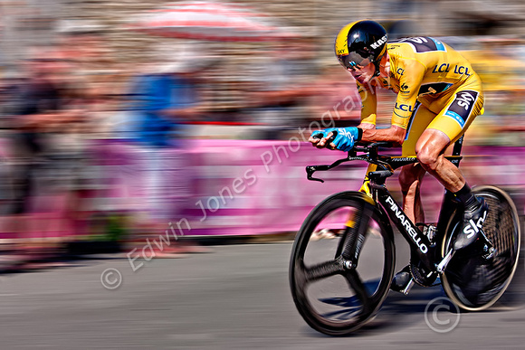 Chris Froome Tour Winner Time Trial Final