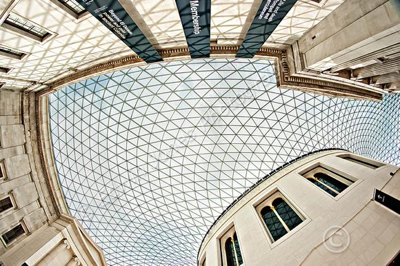 British Museum Roof Fisheyed Final