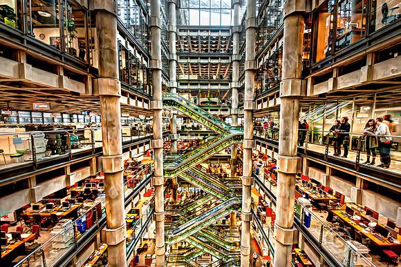 Lloyds of London Atrium View  Final