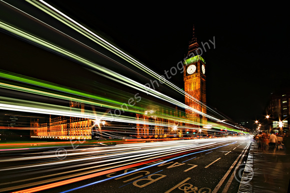 Light Trails to Westminster