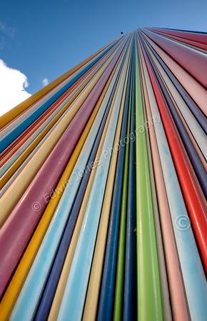Rainbow Tower La Defense Fused