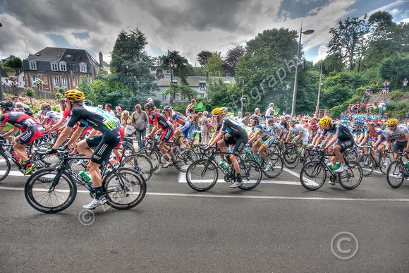 Tour de France Team Sky Dieppe tonemapped