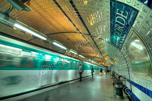 Metro Alphabetical Concorde Tonemapped
