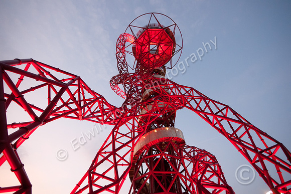 London 2012 Orbit Tower to the Sky