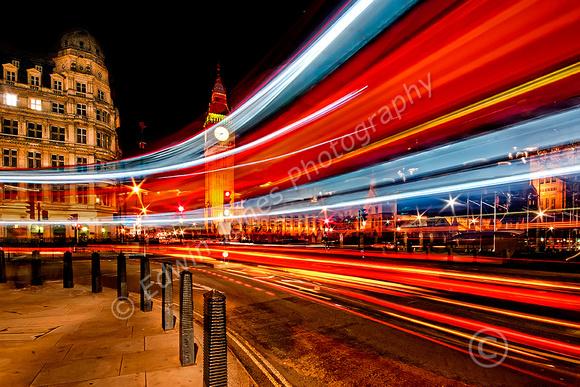 Westminster Light Show London Bus Final