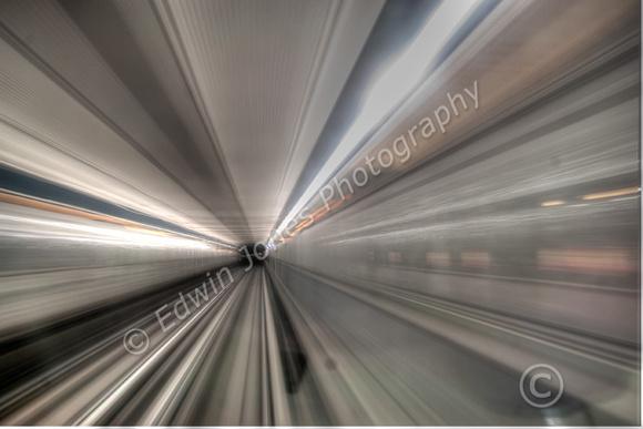 Warp Speed on the Metro tonemapped