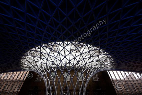Kings Cross Station Flowering Roof Original