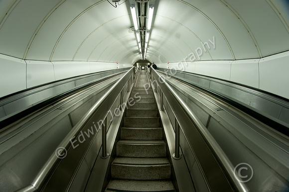Ascent From London Underground Original