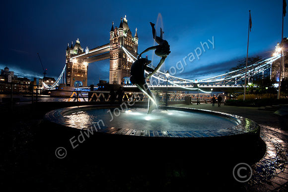 London Dolphin Tower Bridge Original