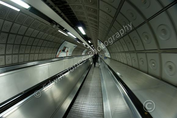 Waterloo Underground Travelator Original