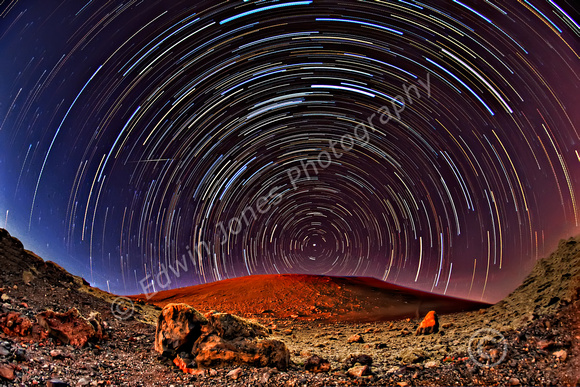 Red Planet Star Trails