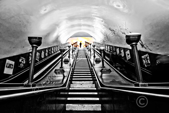 Ascent to the Light Southgate Underground
