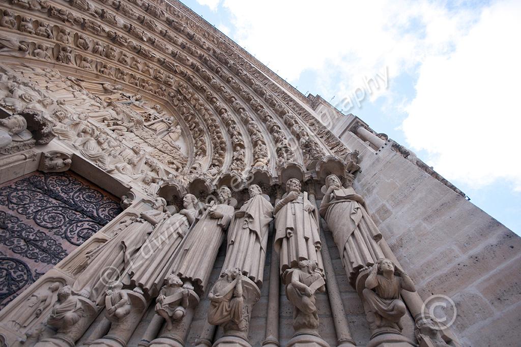 Notre Dame Entrance Original