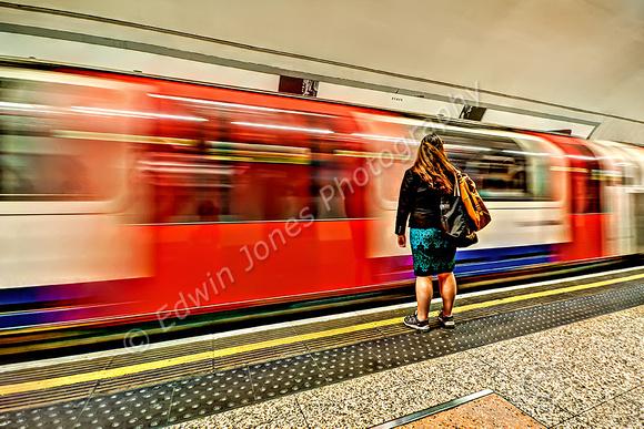 Waiting Passenger London Underground final