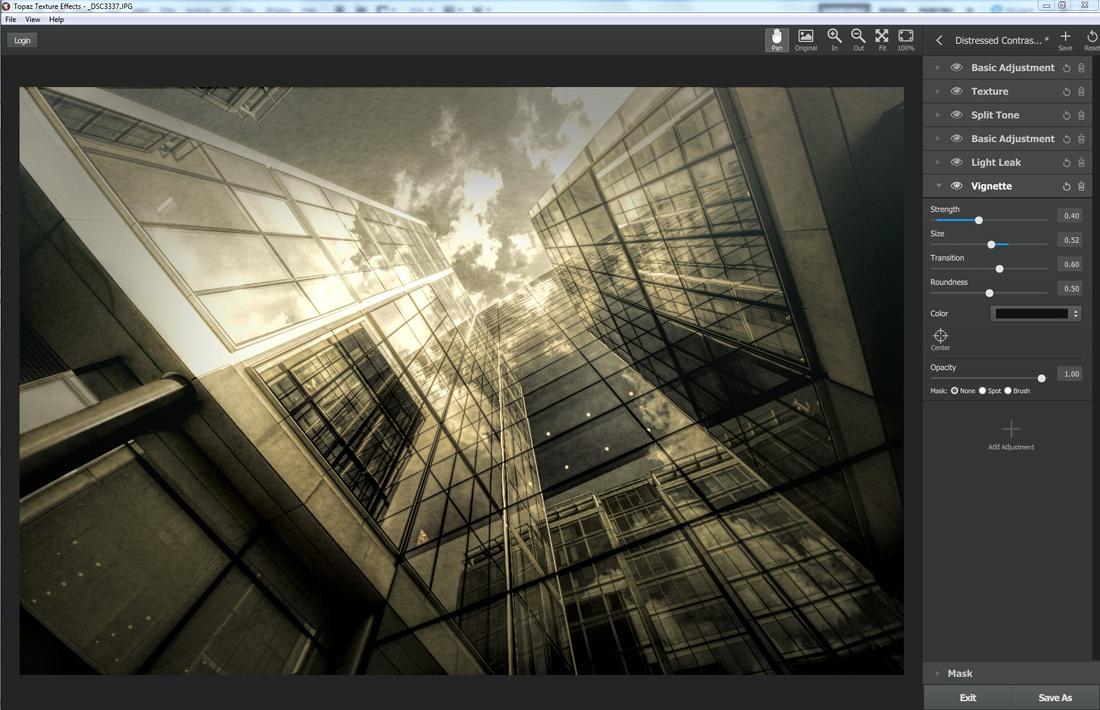 Topaz Texture Effects Skyscraper