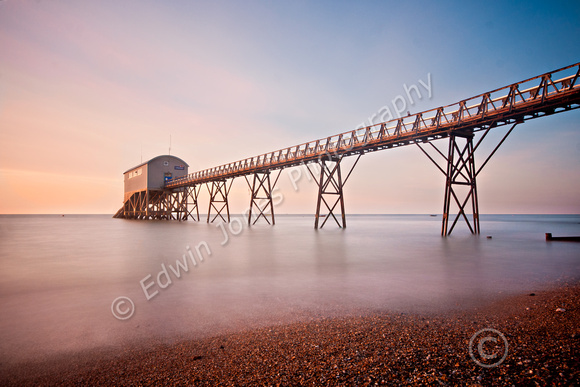 Selsey Lifeboat Dawn Long Exposure