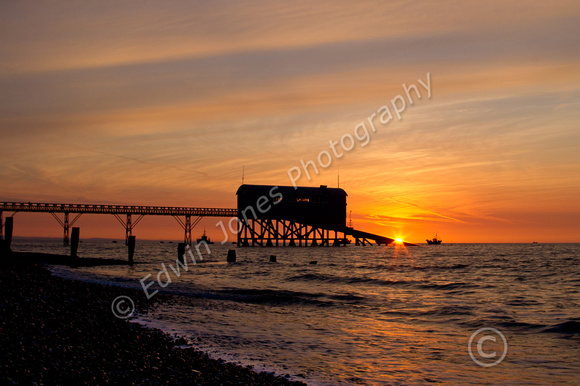 Selsey Lifeboat Station Sun Launch
