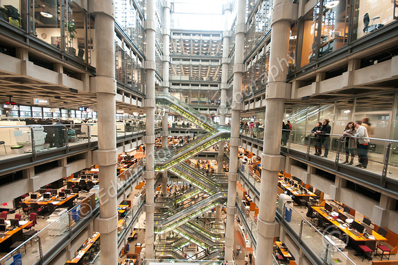 Lloyds of London Atrium View  Original