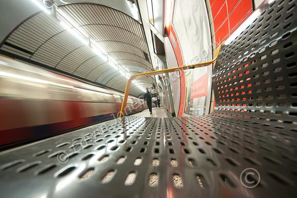 London Underground Station Seat Original