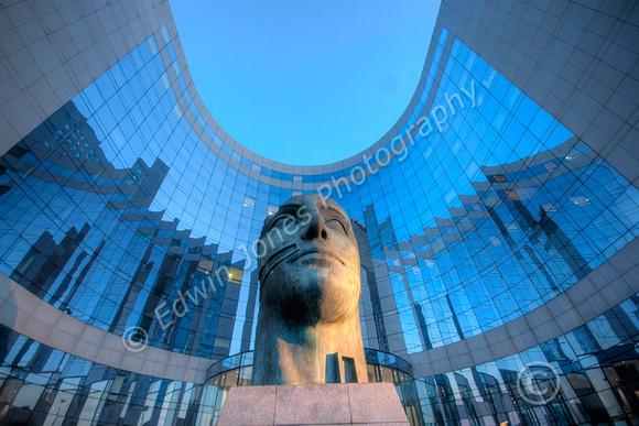 La Defense Paris Art and Architecture Tonemapped