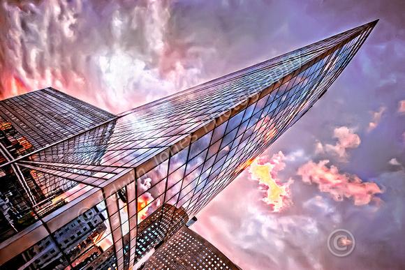 Glass Shard La Defense Paris