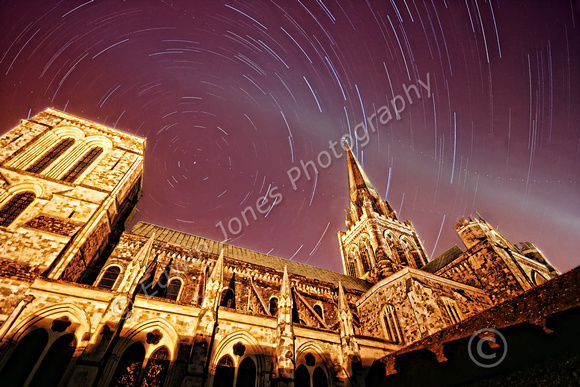 Stars Over Chichester Cathedral