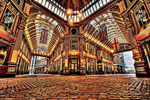 Leadenhall Market Empty View Final