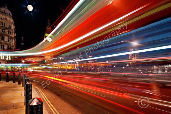 London Bus Parliamentary U Turn