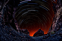 Crater Gap Star Trails