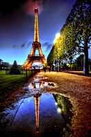 Final Image Eiffel Tower Reflection Paris